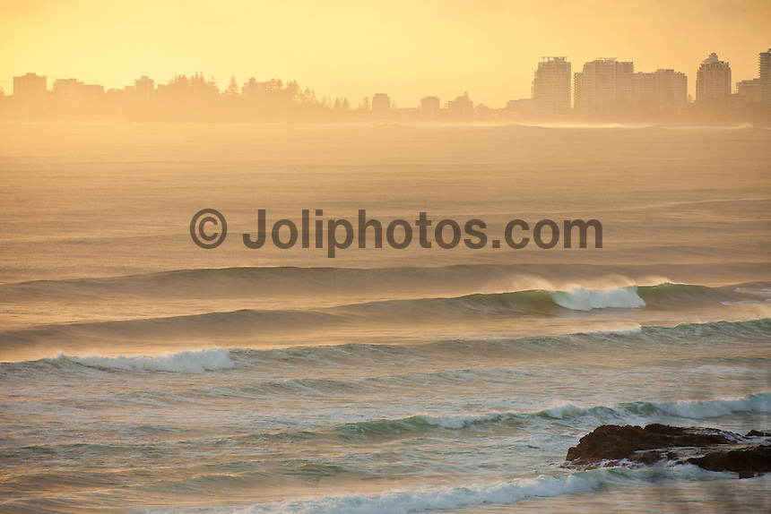 Snapper Rocks, Coolangatta, Queensland (Sunday January 16, 2011) Currumbin beach front firing at dawn..There was a solid 6ft swell hitting the Gold Coast this morning with  the points were lining up  nicely.  Snapper, Greenmount and Kirra were the pick of the spots with plenty of clean lines wrapping through and with SE winds stayed good for most of the day. Kirra was the spot early with dredging barrels looking like the Kirra of old.   Photo: joliphotos.com.There was a solid 6ft swell hitting the Gold Coast this morning with  the points were lining up  nicely.  Snapper, Greenmount and Kirra were the pick of the spots with plenty of clean lines wrapping through and with SE winds stayed good for most of the day. Kirra was the spot early with dredging barrels looking like the Kirra of old.   Photo: joliphotos.com