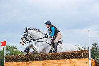 GBR-Fiona Davidson rides Galwaybay Smokie during the Cross Country for the Noel C. Duggan Engineering CCI4*-L. 2019 IRL-Millstreet International Horse Trials. Green Glens Arena. Millstreet. Co. Cork. Ireland. Saturday 24 August. Copyright Photo: Libby Law Photography