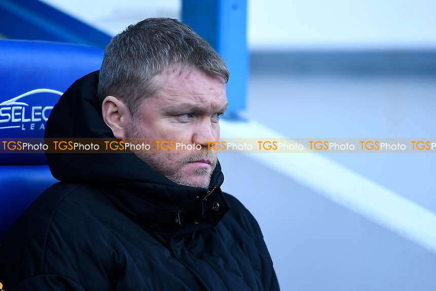 Hull City Manager Grant McCann during Reading vs Hull City, Sky Bet EFL Championship Football at the Madejski Stadium on 8th February 2020