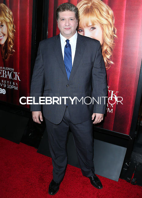 HOLLYWOOD, LOS ANGELES, CA, USA - NOVEMBER 05: Lance Barber arrives at the Los Angeles Premiere Of HBO's 'The Comeback' held at the El Capitan Theatre on November 5, 2014 in Hollywood, Los Angeles, California, United States. (Photo by Xavier Collin/Celebrity Monitor)