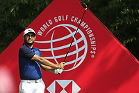 Alexander Levy (FRA) during the 1st round at the WGC HSBC Champions 2018, Sheshan Golf CLub, Shanghai, China. 25/10/2018.<br /> Picture Phil Inglis / Golffile.ie<br /> <br /> All photo usage must carry mandatory copyright credit (&copy; Golffile | Phil Inglis)