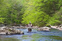 Trout Fly Fishing, Ken Lockwood Gorge, Raritan River, New Jersey