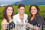 Sheila Marie O'Brien, Annette O'Brien and Norma Doyle enjoying the launch of the new range of Aveda products at the Aghadoe Heights Hotel Killarney on Friday evening..
