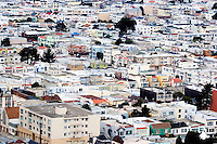 North America, United States of America, California, San Francisco, Housing in the Sunset District, &copy;Stephen Blake Farrington<br />
