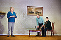 The Cane by Mark Ravenhill, directed by Vicky Featherstone. With Maggie Steed as Maureen,Alun Armstrong as Edward, Nicola Walker as Anna. Opens at The Jerwood Theatre Downstairs at The Royal Court Theatre on 13/12/18 pic Geraint Lewis EDITORIAL USE ONLY