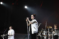 SÃO PAULO,SP, 25.03.2017 - LOLLAPALOOZA-SP - Tegan and Sara durante apresentação no primeiro dia do festival Lollapalooza no autódromo de Interlagos, neste sábado, 25. (Foto: Adriana Spaca/Brazil Photo Press)