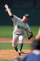 September 1 2008:  Brandon Todd of the Jamestown Jammers, Class-A affiliate of the Florida Marlins, during a game at Dwyer Stadium in Batavia, NY.  Photo by:  Mike Janes/Four Seam Images