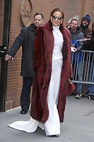 DEC 12 Jennifer Lopez at The View--