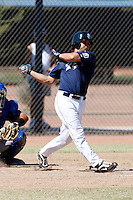 Andrew Parrino  - San Diego Padres - 2009 spring training.Photo by:  Bill Mitchell/Four Seam Images