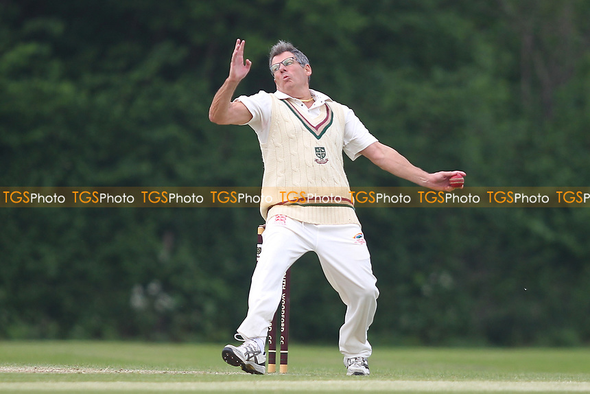Garry Neicho of South Woodford during South Woodford CC vs Billericay CC, Shepherd Neame Essex League Cup Cricket at Highfield Road on 6th May 2017