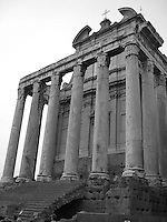 Temple, Rome, Italy