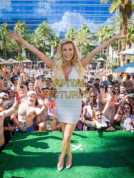 LAS VEGAS, NV - June 13: ***HOUSE COVERAGE*** Crystal Hefner DJ's at REHAB Pool Party at Hard Rock Hotel &amp; Casino in Las Vegas, NV on June 13, 2015.  <br /> CAP/MPI/EKP<br /> &copy;EKP/MediaPunch/Capital Pictures
