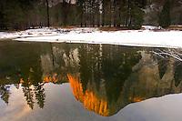 Reflection of El Capitan - Yosemite National Park, CA