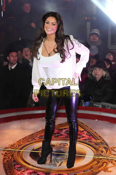 BOREHAMWOOD, ENGLAND - JANUARY 29: Casey Batchelor at the Celebrity Big Brother Final at Elstree Studios on January 29, 2014 in Borehamwood, England<br /> CAP/ROS<br /> &copy;Steve Ross/Capital Pictures