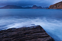 Scenic coastal view, Elgol, Isle of Skye, Scotland