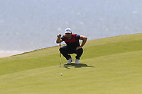 Haydn Porteous (RSA) on the 6th green during Thursday's Round 1 of the Dubai Duty Free Irish Open 2019, held at Lahinch Golf Club, Lahinch, Ireland. 4th July 2019.<br /> Picture: Eoin Clarke | Golffile<br /> <br /> <br /> All photos usage must carry mandatory copyright credit (© Golffile | Eoin Clarke)