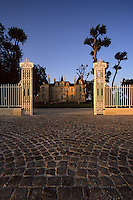 Europe/France/Aquitaine/33/Gironde/Pauillac : château Pichon Longueville Comtesse de Lalande (AOC Pauillac) - L'entrée [Non destiné à un usage publicitaire - Not intended for an advertising use]