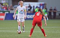 Portland, OR - Wednesday June 28, 2017: Becky Sauerbrunn during a regular season National Women's Soccer League (NWSL) match between the Portland Thorns FC and FC Kansas City at Providence Park.