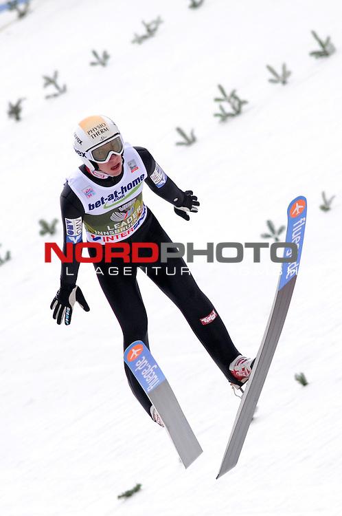 Innsbruck, Austria 04.01.2014 <br /> 2013-14 Vierschanzentournee, <br /> FIS Ski Jumping World Cup <br /> X of Y in action during the FIS Ski Jumping World Cup Vierschanzentournee on January 4, 2014 in Innsbruck, Austria.<br /> Foto &copy; nph / Pier Paolo Piciucco