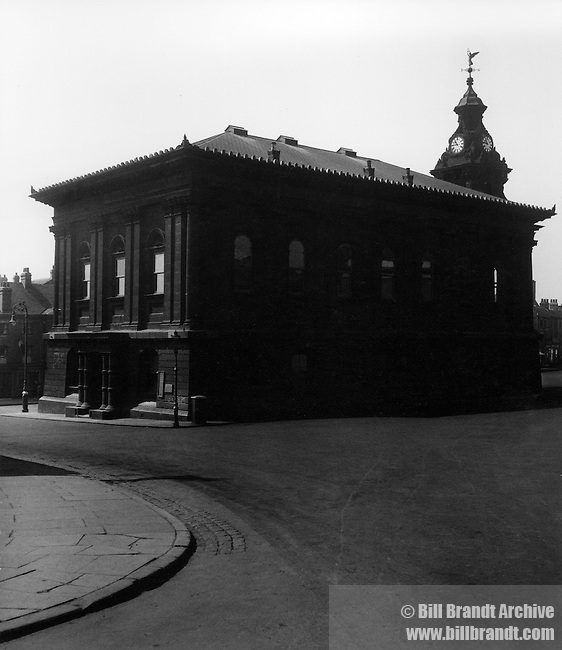 Burslem Town Hall 1940s