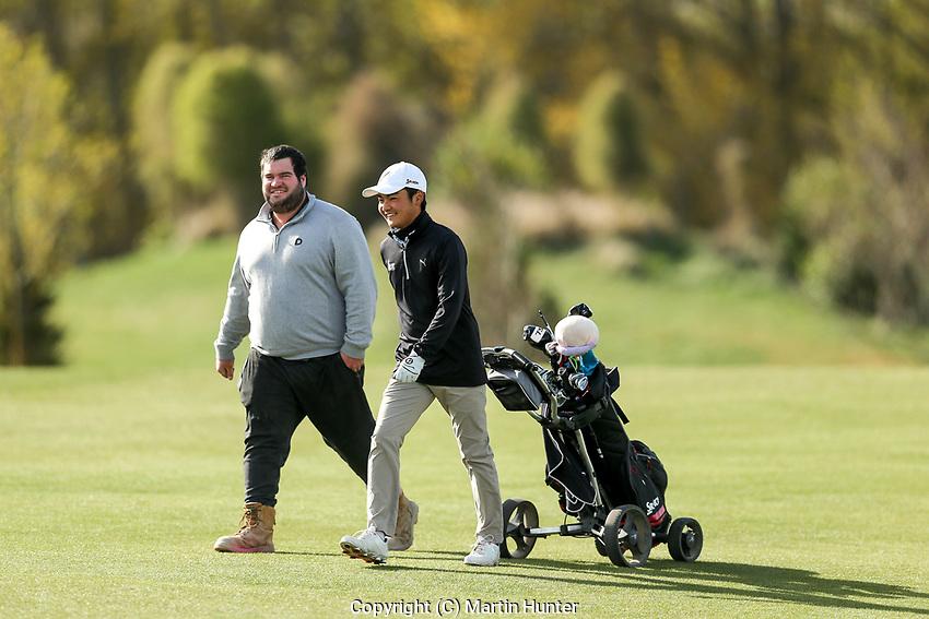 Kazuma Kobori. Jennian Homes Charles Tour, Pegasus Open, Christchurch, New Zealand, Thursday 3 October 2019. Photo Martin Hunter/www.bwmedia.co.nz