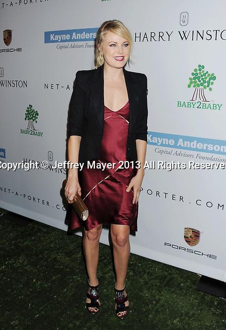 CULVER CITY, CA- NOVEMBER 09: Actress Malin Akerman arrives at the 2nd Annual Baby2Baby Gala at The Book Bindery on November 9, 2013 in Culver City, California.
