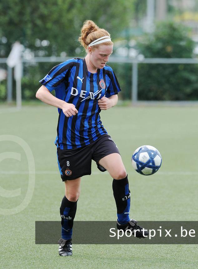 Dames Club Brugge : Virginie Vermeire.foto VDB / BART VANDENBROUCKE
