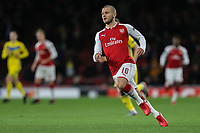 Jack Wilshere of Arsenal during the UEFA Europa League match between Arsenal and FC BATE Borisov  at the Emirates Stadium, London, England on 7 December 2017. Photo by David Horn.