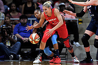 Washington, DC - June 1, 2019: Washington Mystics forward Elena Delle Donne (11) fights for a loose ball during game between Atlanta Dream and Washington Mystics at the St. Elizabeths East Entertainment and Sports Arena (Photo by Phil Peters/Media Images International)