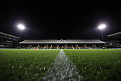 31st October 2017, Craven Cottage, London, England; EFL Championship football, Fulham versus Bristol City; General view of the Johnny Haynes Stand before kick off