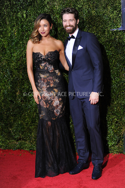 WWW.ACEPIXS.COM<br /> <br /> June 7 2015, New York City<br /> <br /> Matthew Morrison and Renee Puente arriving at the 2015 Tony Awards at Radio City Music Hall on June 7, 2015 in New York City.<br /> <br /> <br /> Please byline: Kristin Callahan/ACE Pictures<br /> <br /> ACE Pictures, Inc.<br /> www.acepixs.com, Email: info@acepixs.com<br /> Tel: 646 769 0430