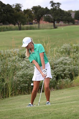 DENTON, TX - SEPTEMBER 9: North Texas  Mean Green Women's Golf at Oakmont Country Club in Denton on September 9, 2015 in Denton, Texas. (Photo by Rick Yeatts)