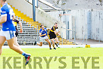 JAck Savage  Kerins O Rahillys tracks Shane Doolan  Dr Crokes during their County Championship clash in Fitzgerald Stadium on Sunday
