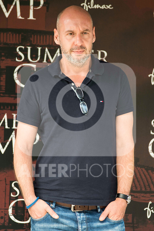 "Spanish director and the producer of the film, Jaume Balaguero during the presentation of the film ""Summer Camp"" at Cines Paz in Madrid. June 06. 2016. (ALTERPHOTOS/Borja B.Hojas)"