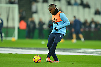 Michail Antonio of West Ham United warms up  during West Ham United vs Fulham, Premier League Football at The London Stadium on 22nd February 2019
