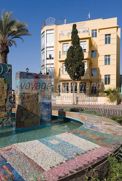 Asie/Israel/Tel-Aviv-Jaffa: Centre Musical Felicia Blumental sur Bialik Sreet dans le quartier de la rue Dizengoff