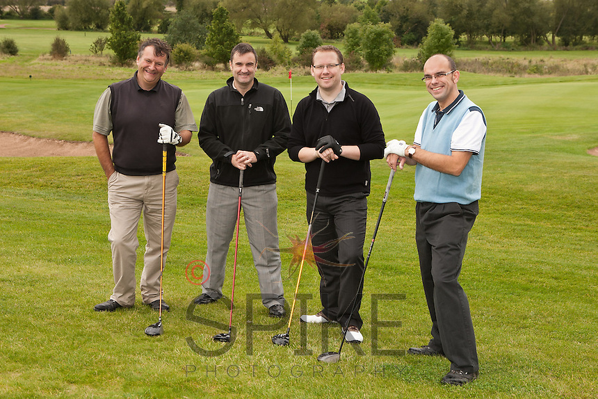 Nottingham pin team: Dave Boultby, John Austen, Phil Ashford and Andy Churchill