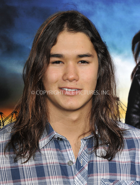 WWW.ACEPIXS.COM....March 26 2013, LA....Booboo Stewart arriving at the 'Rogue' Los Angeles premiere at ArcLight Hollywood on March 26, 2013 in Hollywood, California.....By Line: Peter West/ACE Pictures......ACE Pictures, Inc...tel: 646 769 0430..Email: info@acepixs.com..www.acepixs.com