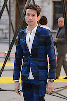 Nick Grimshaw at the Royal Academy of Arts Summer Exhibition 2015 at the Royal Academy, London. <br /> June 3, 2015  London, UK<br /> Picture: Dave Norton / Featureflash
