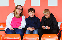 Fleetwood Town fans enjoy the pre-match atmosphere<br /> <br /> Photographer Andrew Vaughan/CameraSport<br /> <br /> The EFL Sky Bet League One - Lincoln City v Fleetwood Town - Saturday 31st August 2019 - Sincil Bank - Lincoln<br /> <br /> World Copyright © 2019 CameraSport. All rights reserved. 43 Linden Ave. Countesthorpe. Leicester. England. LE8 5PG - Tel: +44 (0) 116 277 4147 - admin@camerasport.com - www.camerasport.com