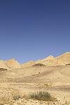 Israel, Negev, Mount Karbolet at the Hatira ridge