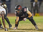 Lawndale, CA 11/11/16 - Angel Becerra (Lawndale #56)<br />  in action during the West Torrance - Lawndale CIF first round playoffs.  Lawndale defeated West Torrance 48-14.