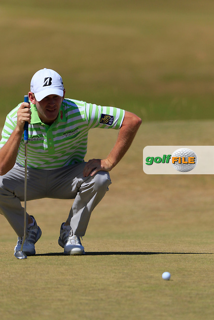 Brandt SNEDEKER (USA) at the 6th green during Sunday's Final Round of the 2015 U.S. Open 115th National Championship held at Chambers Bay, Seattle, Washington, USA. 6/21/2015.<br /> Picture: Golffile | Eoin Clarke<br /> <br /> <br /> <br /> <br /> All photo usage must carry mandatory copyright credit (&copy; Golffile | Eoin Clarke)