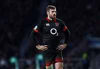 England's Elliot Daly<br /> <br /> Photographer Rachel Holborn/CameraSport<br /> <br /> International Rugby Union Friendly - Old Mutual Wealth Series Autumn Internationals 2017 - England v Argentina - Saturday 11th November 2017 - Twickenham Stadium - London<br /> <br /> World Copyright &copy; 2017 CameraSport. All rights reserved. 43 Linden Ave. Countesthorpe. Leicester. England. LE8 5PG - Tel: +44 (0) 116 277 4147 - admin@camerasport.com - www.camerasport.com