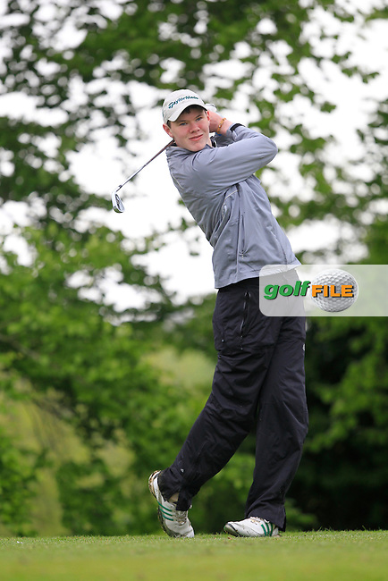 D. Brady (Co. Sligo) on the 5th Tee during the Mullingar Scratch Trophy Day 1at Mullingar Golf Club Belvedere 18th May 2013.Picture: Thos Caffrey www.golffile.ie...