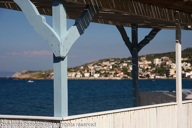 Karaburun, western Turkey on the Aegean coast