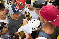 SÃO PAULO, SP - 22.09.2013 - VIRADA ESPORTIVA 2013 SÃO PAULO - Sandro Dias durante a virada esportiva, no Memorial da América Latina, zona oeste de São Paulo, a Virada Esportiva 2013 teve início neste sábado (21) e termina as 18hs desse domingo (22). (Foto: Marcelo Brammer/Brazil Photo Press)