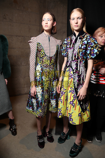 MARY KATRANTZOU<br /> at London Fashion Week FW 17 18<br /> in London, UK  February 20, 2017.<br /> CAP/GOL<br /> &copy;GOL/Capital Pictures