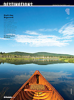 Northern Forest Canoe Trail in Charleston, Vermont, Outside Magazine, June 2016