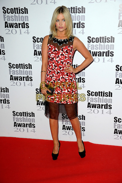 Laura Whitmore attends The Scottish Fashion Awards held at 8  Northumberland Avenue, on September 1, 2014 in London, England. <br /> CAP/CJ<br /> &copy;Chris Joseph/Capital Pictures